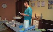 Príprava pracovného miesta pred aplikáciou pijavíc lekárskych